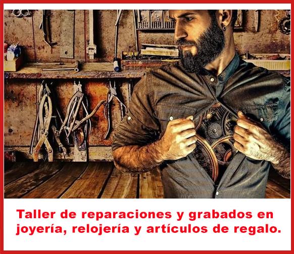 Reparaciones y grabados